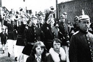Tambourkorps der Feuerwehr Zündorf 1926